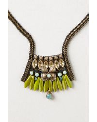 Anthropologie - Green Animalia Heirloom Necklace - Lyst