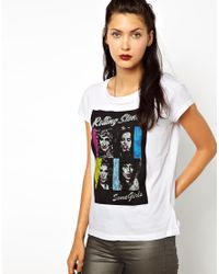 ELEVEN PARIS | White Stones Tshirt | Lyst