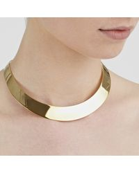 John Lewis - Metallic Torc Collar Necklace - Lyst