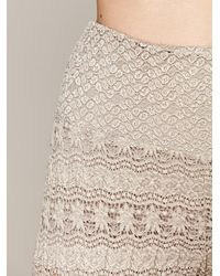 Free People | White Womens Rolled Crop Skinny | Lyst