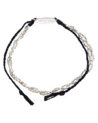 Paul Smith | Metallic Plait Bracelet for Men | Lyst