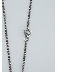 Ann Demeulemeester   Metallic Transparent Ball Necklace   Lyst