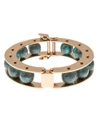 Lele Sadoughi   Green Slider Bracelet   Lyst