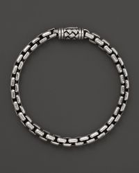 Scott Kay | Metallic Box Link Bracelet 6mm for Men | Lyst
