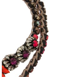 Shourouk - Multicolor Cora Zambia Necklace - Lyst