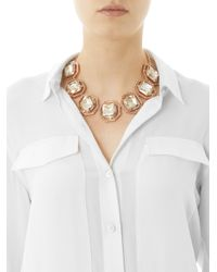 Ca&Lou - Pink Brune Necklace - Lyst