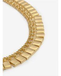 Eddie Borgo - Metallic Padlock Necklace - Lyst