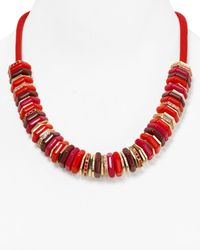 Marc By Marc Jacobs | Red Bolt Slice Necklace 21 | Lyst