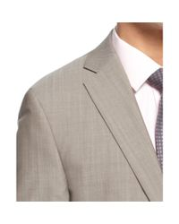 Calvin Klein - Gray Tan Shark Skin Slim Fit for Men - Lyst