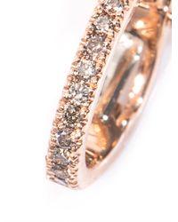 Elise Dray   Pink Diamond & Rose Gold Ear Cuff   Lyst