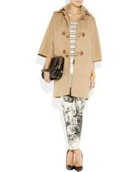 J.Crew - Brown Duffy Wool Duffle Coat - Lyst