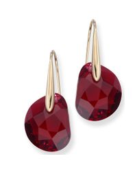 Swarovski | Red Bordeaux Galet | Lyst