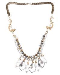 Fenton - Multicolor Charm Necklace - Lyst