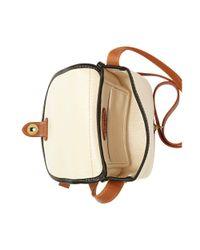Fossil - Green Austin Small Flap Bag - Lyst