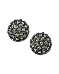 Givenchy - Black Stud Earrings Fireball - Lyst
