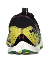 Under Armour Black Micro G Toxic Six Sneakers for men
