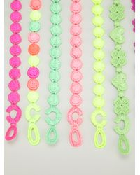 Cruciani - Multicolor Multi Colour Bracelets - Lyst