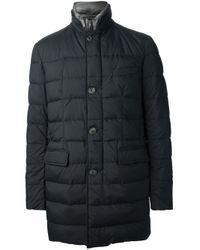 Herno | Black Padded Jacket for Men | Lyst