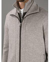 Fedeli - Natural Zip Cardigan for Men - Lyst