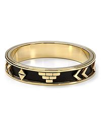 House of Harlow 1960 - Aztec Bangle Black - Lyst