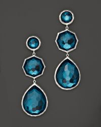 Ippolita - Metallic Sterling Silver Wonderland Crazy 8'S Earrings In Peacock - Lyst