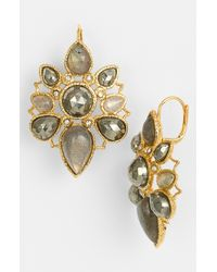 Alexis Bittar | Metallic Elements Jardin De Papillon Statement Earrings | Lyst