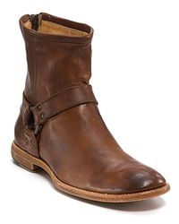 Frye | Brown Phillip Harness Boot for Men | Lyst