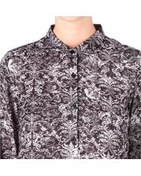The Kooples Sport - Black Baroqueprint Shirt - Lyst