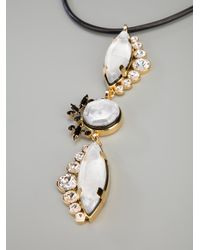 Marni - White Opalescent Necklace - Lyst