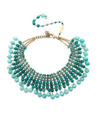 Rosantica | Blue Orchidea Aquamarine Agate Necklace | Lyst