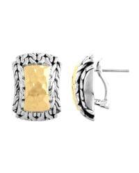 John Hardy - Metallic Hiway Palu Earrings - Lyst