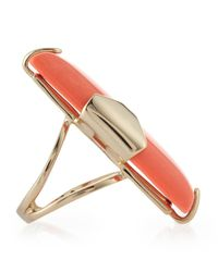 Kendra Scott - Pink Tobin Salmon Magnesite Ring - Lyst
