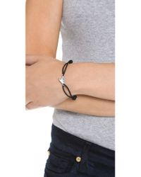 Marc By Marc Jacobs | Black Bird Friendship Bracelet | Lyst