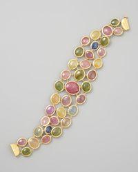 Marco Bicego | Metallic Siviglia 18k Multicolor Sapphire Bracelet | Lyst