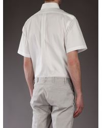 Polo Ralph Lauren - White Short Sleeved Shirt for Men - Lyst