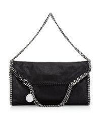 Stella McCartney | Black Falabella Triple Handle Bag | Lyst