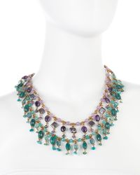 Stephen Dweck - Multicolor Doublestrand Amethyst Necklace - Lyst