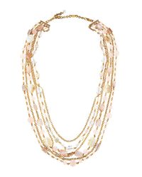 Stephen Dweck | Metallic Long Shell And Mixed-stone Necklace | Lyst
