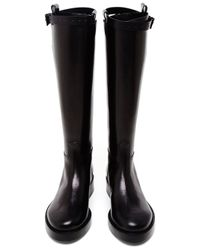 Ann Demeulemeester | Black Vietello Lucido Tall Boot | Lyst