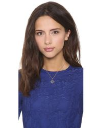 Elizabeth and James - White Northern Star Open Pendant Necklace - Lyst
