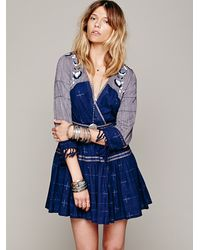 Free People Fp New Romantics Lovers Lane Ikat Dress In