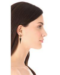 Lulu Frost - Metallic Orbit Earrings - Lyst