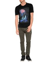 Maison Margiela | Graphic Tee In Black | Lyst