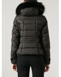 Moncler   Brown Down Jacket   Lyst