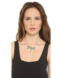 Alexis Bittar | Metallic Neo Bohemian Dragonfly Necklace | Lyst