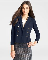 Ann Taylor - Blue Foyer Jacket - Lyst