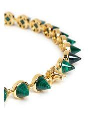 Eddie Borgo - Green Malachite Cone Necklace - Lyst