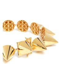 Eddie Borgo - Metallic Large Cone Necklace - Lyst
