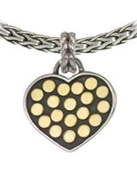 John Hardy | Metallic Dot Heart Enhancer | Lyst