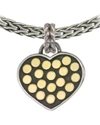 John Hardy - Metallic Dot Heart Enhancer - Lyst